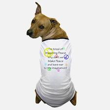 Make Peace/Imagine War Dog T-Shirt
