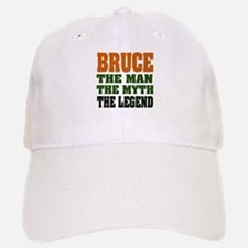 BRUCE - The Legend Baseball Baseball Cap
