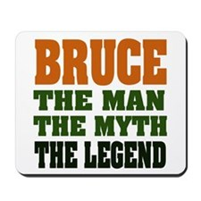BRUCE - The Legend Mousepad