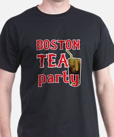 Boston Tea Party Black Tee