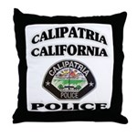 Calipatria Police Throw Pillow