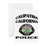 Calipatria Police Greeting Cards (Pk of 10)