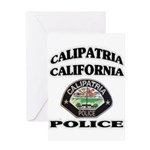 Calipatria Police Greeting Card