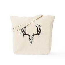 European mount mule deer Tote Bag