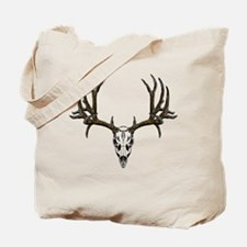 European mount mule deer Tote Bag