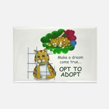"""Make a Dream"" Rectangle Magnet (100 pack)"
