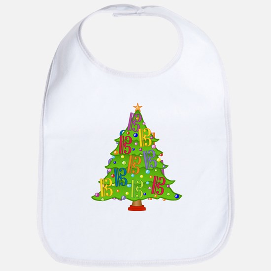 Alto/Tenor Clef Christmas Bib