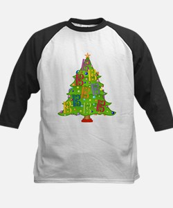 Alto/Tenor Clef Christmas Kids Baseball Jersey
