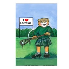 Girls Lax Green - Postcards (Package of 8)