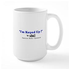 Keyed up-Mug