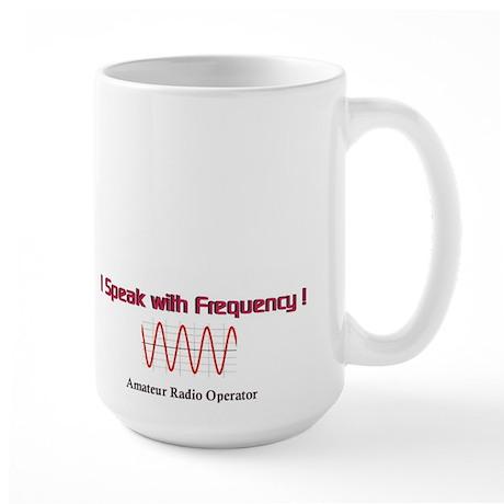 Frequency-Large Mug