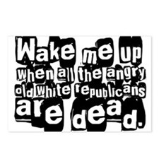 Angry White Republicans Postcards (Package of 8)