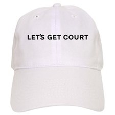 Let's Get Court Tennis Baseball Cap