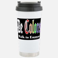 Emmaus Stainless Steel Travel Mug