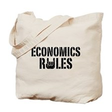Economics Rules Tote Bag