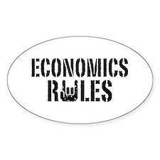 Economics Rules Decal