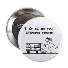 """Library Chick 2.25"""" Button"""