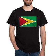 Unique Guyana flag T-Shirt