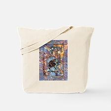 Raven Goddess Tote Bag