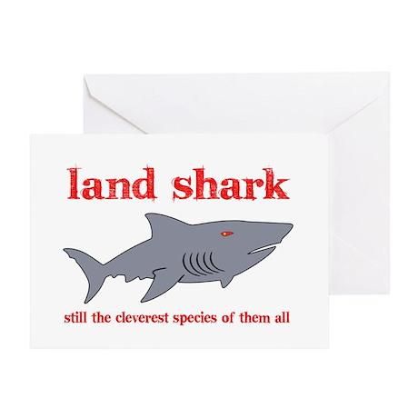Land Shark Greeting Card