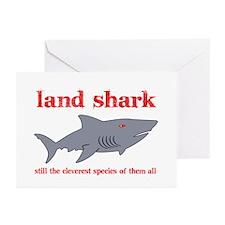 Land Shark Greeting Cards (Pk of 10)