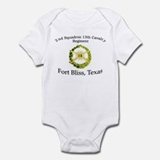 2nd Squadron 13th Cavalry Infant Bodysuit