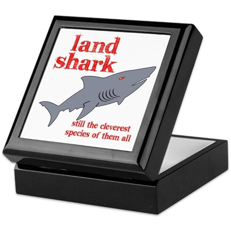 Land Shark Keepsake Box