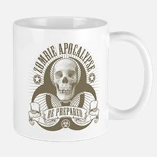 Zombie Apocalypse (halftone) Mug