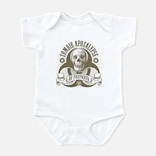 Zombie Apocalypse (halftone) Infant Bodysuit