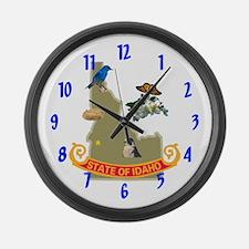 Idaho Large Wall Clock 17inch