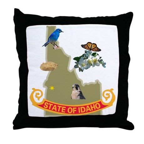 Idaho Throw Pillow