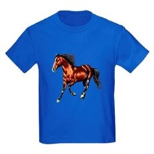 Cantering Bay Horse T