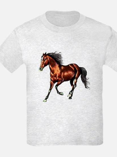 Cantering Bay Horse T-Shirt
