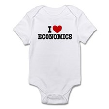 I Love Economics Infant Bodysuit