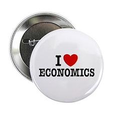 "I Love Economics 2.25"" Button"