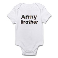 Army Brother Camo Infant Creeper
