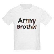 Army Brother Camo Kids T-Shirt