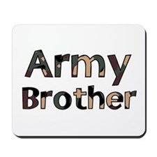 Army Brother Camo Mousepad