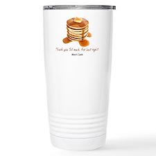 Pancakes Stainless Steel Travel Mug