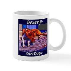 Sun Dogs Basenji Mug