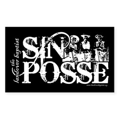 SIN POSSE Decal
