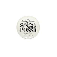 SIN POSSE Mini Button
