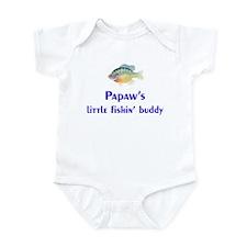 Papaw's Little Fishin' Buddy Infant Bodysuit