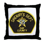 Day County Sheriff Throw Pillow