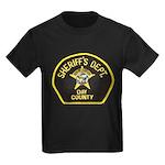 Day County Sheriff Kids Dark T-Shirt