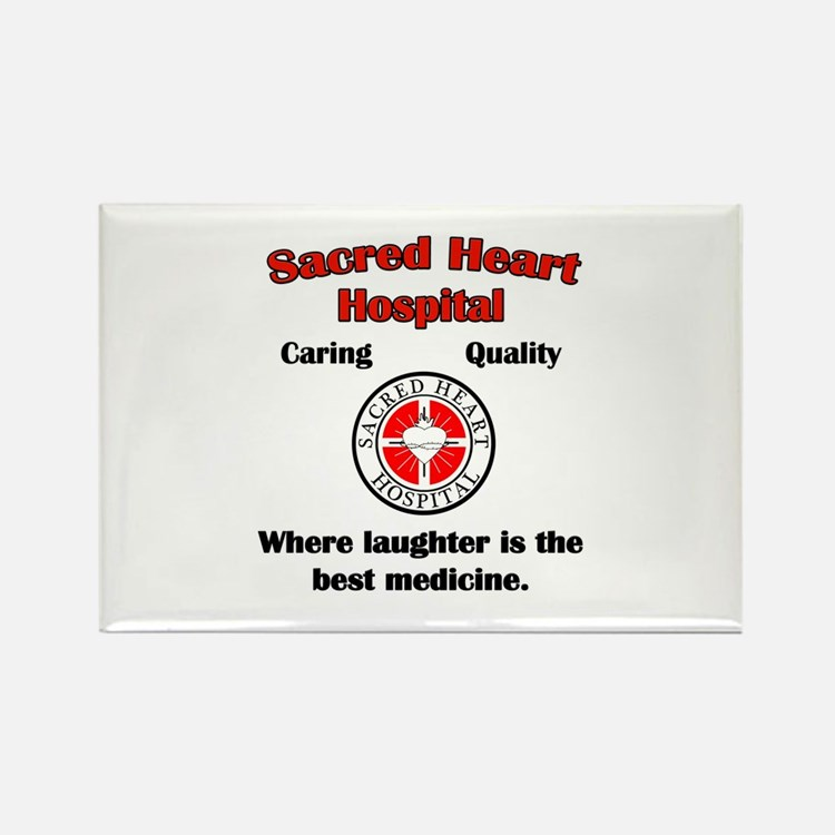 Sacred Heart Rectangle Magnet (10 pack)