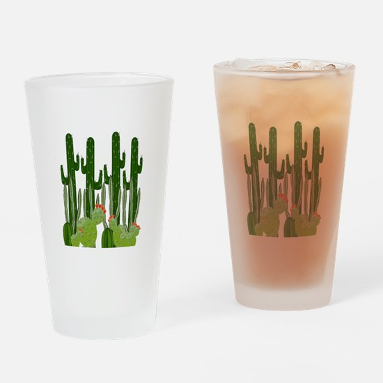 IN THE HEAT Drinking Glass