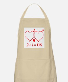 Same Sex Couple With Child Apron