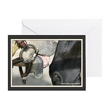 Cute Collie blank Greeting Card