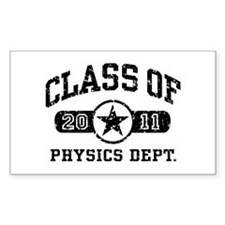 Class of 2011 Physics Decal